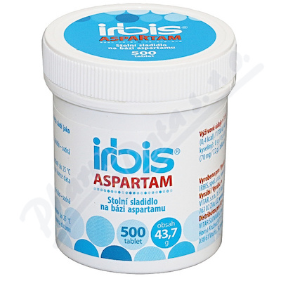 Zobrazit detail - IRBIS Aspartam tbl. 500