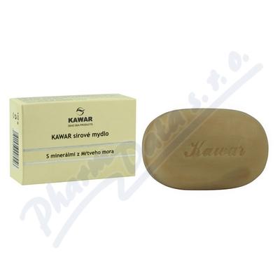 Zobrazit detail - KAWAR Sírové mýdlo s minerály z Mrtvého moře 120g