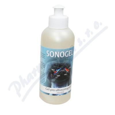 Zobrazit detail - Sonogel na ultrazvuk 250 ml Steriwund