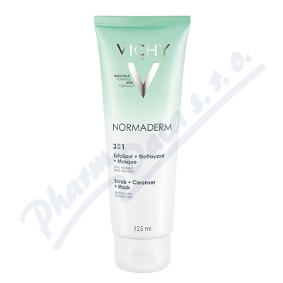 VICHY Normaderm 3v1 Cleanser 125ml