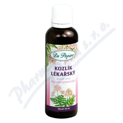 Kapky bylinn� Kozl�k l�ka�sk� Dr.Popov 50ml