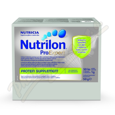 Zobrazit detail - Nutrilon Protein Supplement ProExpert 50x1g