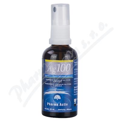 Zobrazit detail - Koloidní stříbro Ag100 40ppm 50ml spray