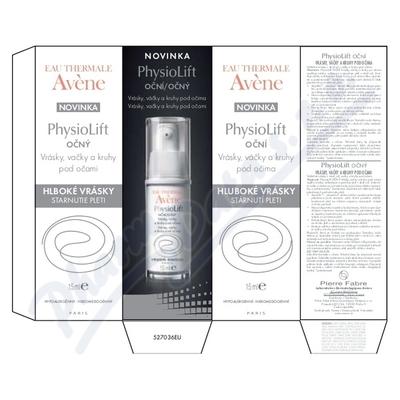 Zobrazit detail - AVENE Physiolift cont yeux 15ml oční krém
