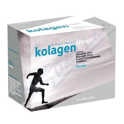 Zobrazit detail - Rosen Kolagen SPRINT 180 žvýkacích tablet