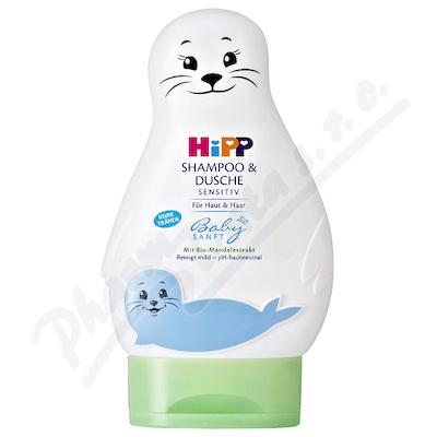 Zobrazit detail - HiPP BABYSANFT Šampon Vlasy a tělo (LACHTAN) 200ml