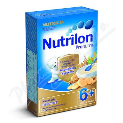 Zobrazit detail - Nutrilon kaše Pronutra ml.  kr.  s piškoty 6M 225g