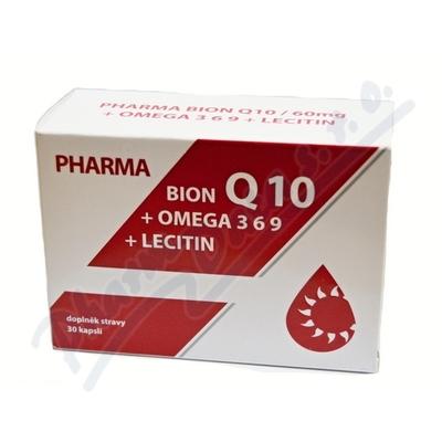 Pharma Bion Q10-60mg +omega 3-6-9 +lecitin cps.30