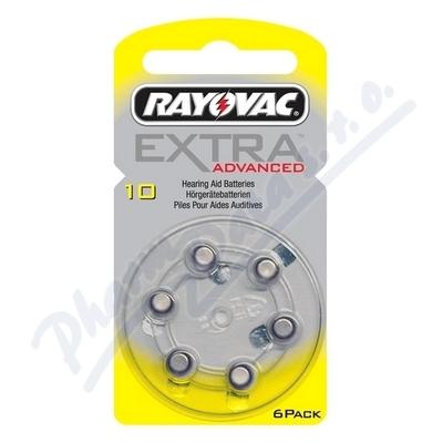 Zobrazit detail - Baterie do naslouch. Rayovac Extra Advan. 10-PR7 6ks