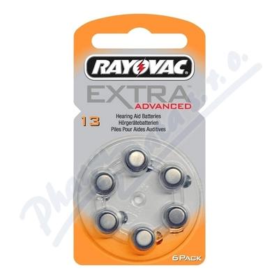 Zobrazit detail - Baterie do naslouch. Rayovac Extra Adv. 13-PR48 6ks