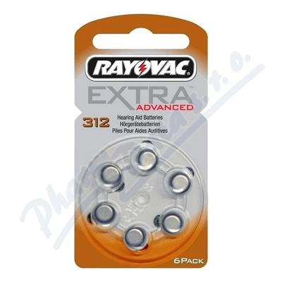 Zobrazit detail - Rayovac Extra Adv. 312 baterie do naslouchadel 6ks