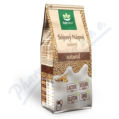 Sójový nápoj natural 350g TOPNATUR