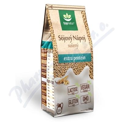 Zobrazit detail - Sójový nápoj extra protein TOPNATUR 350 g