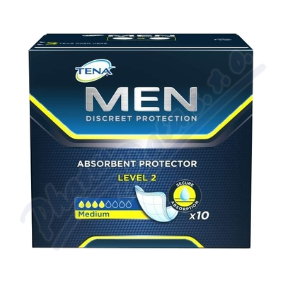 Inkont.vlož.pro muže TENA Men Level 2 10ks 750796