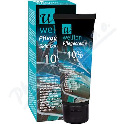 Wellion zvláčňující krém 10% urea 75ml