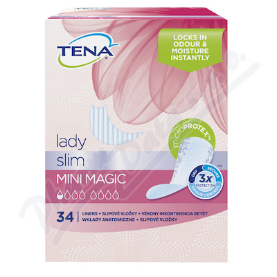 Zobrazit detail - Ink. vlož. TENA Lady Mini Magic 34ks 761052