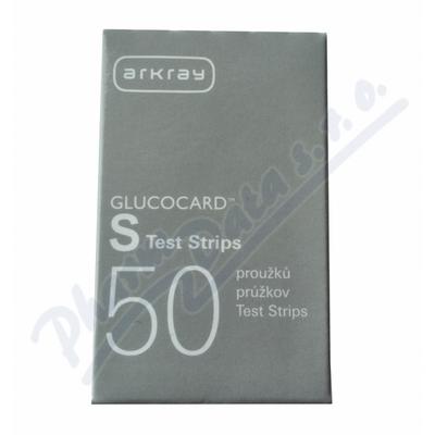 Zobrazit detail - Test. proužky GLUCOCARD S Test Strips 50ks
