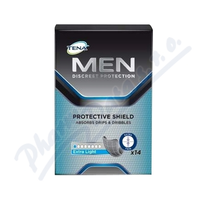 Inkont.vlo�.TENA Men Protective Shield 14ks 750403