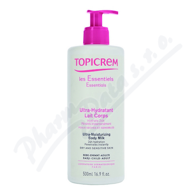 Topicrem ultra-hydrata�n� t�lov� ml�ko 500 ml