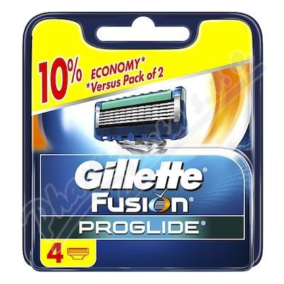 Zobrazit detail - Gillette Fusion ProGlide náhradní hlavice 4 ks
