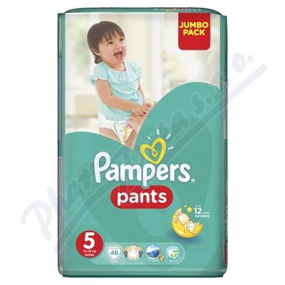 Zobrazit detail - Pampers kalhotkové plenky Jumbo Pack S5 48ks