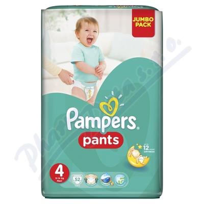 Zobrazit detail - Pampers kalhotkové plenky Jumbo Pack S4 52ks