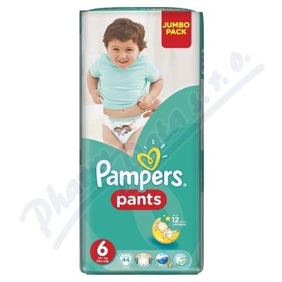 Zobrazit detail - Pampers kalhotkové plenky Jumbo Pack S6 44ks