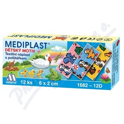 Náplast Mediplast 6cmx2cm dětská 12ks