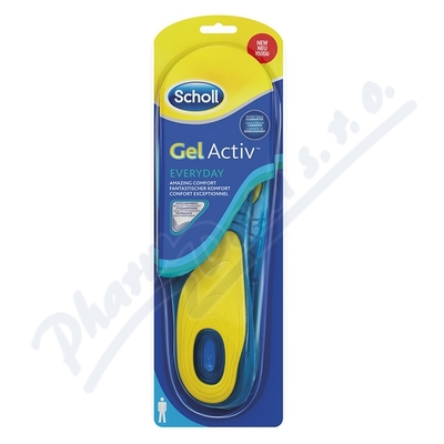 Zobrazit detail - Scholl Gelov� vlo�ky do bot Everyday - Mu�i