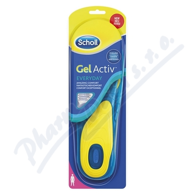 Zobrazit detail - Scholl Gelov� vlo�ky do bot Everyday - �eny