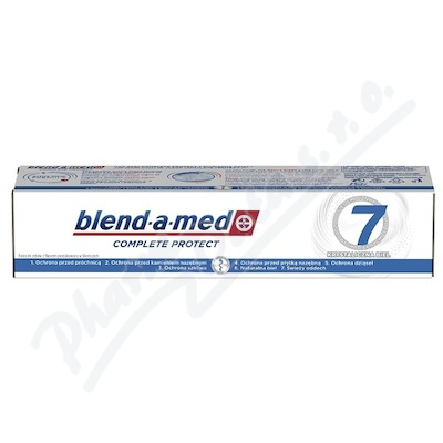 Blend-a-med Complete 7 White zubní pasta 100 ml