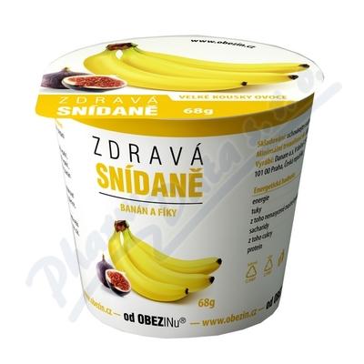 Zobrazit detail - Zdravá snídaně od Obezinu banán a fíky 78g