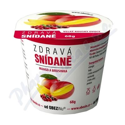Zdrav� sn�dan� od Obezinu mango a brusinka 78g