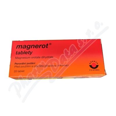 Zobrazit detail - Magnerot por. tbl. nob. 20x500mg II.