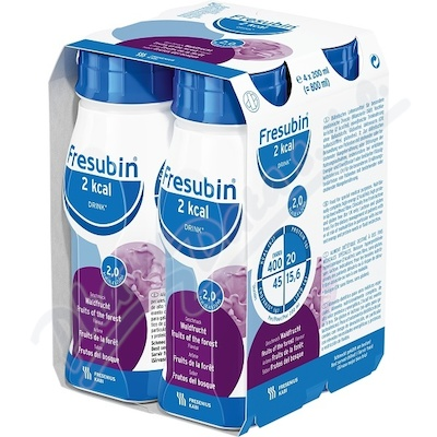 Zobrazit detail - Fresubin 2kcal Drink Lesni plody por. sol. 4x200ml