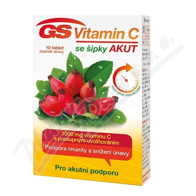 Zobrazit detail - GS Vitamin C1000 se šípky Akut tbl. 10