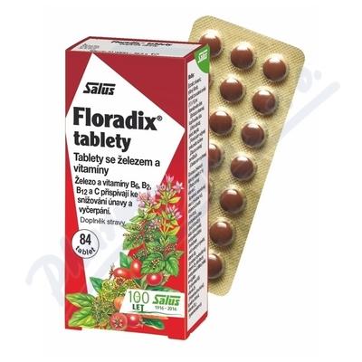 Zobrazit detail - Salus Floradix tablety 84ks