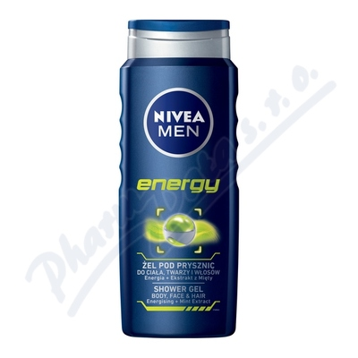 NIVEA Sprchov� gel mu�i ENERGY 500ml �. 80786