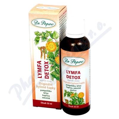 Kapky bylinn� Lymfa Detox Dr.Popov 50ml