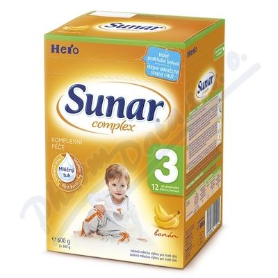 Zobrazit detail - Sunar complex 3 banán 600g (nový)