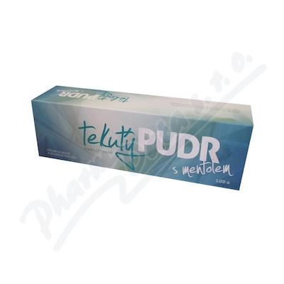 Herbacos Tekutý pudr s mentolem 1% 100g