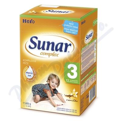 Zobrazit detail - Sunar complex 3 vanilka 600g (nový)