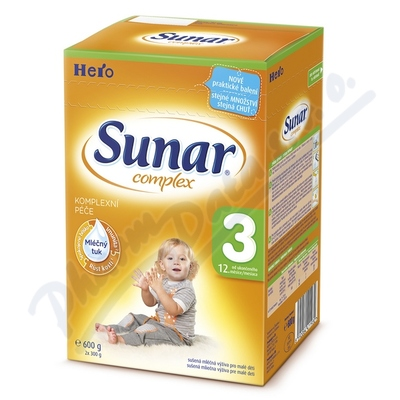 Zobrazit detail - Sunar complex 3 600g (nový)