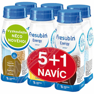 Zobrazit detail - Fresubin Energy Drink - balíček 5+1