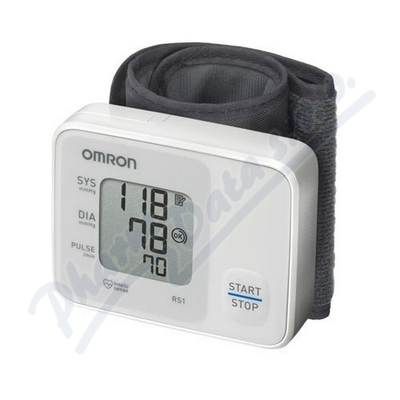 Zobrazit detail - Tonometr dig.  OMRON RS1 na zápěstí