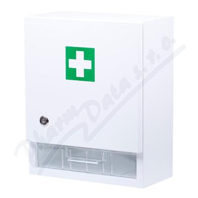 Zobrazit detail - Lékárnička nástěn. s náplní do 10 osob-ZM 10 bílá
