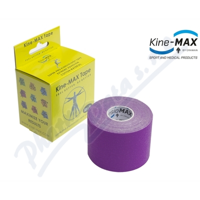 Zobrazit detail - KineMAX SuperPro Cot.  kinesiology tape fial. 5cmx5m