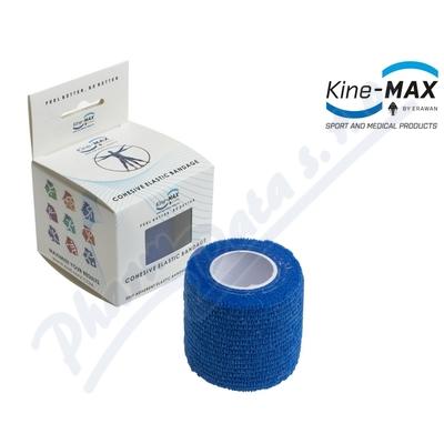 Zobrazit detail - KineMAX Cohesive elast. samofix.  2. 5cmx4. 5m modré