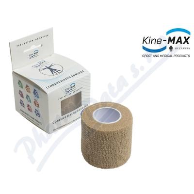 Zobrazit detail - KineMAX Cohesive elast. samofix.  2. 5cmx4. 5m tělové