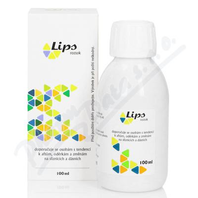 Zobrazit detail - Lips roztok na afty 100 ml